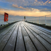 8507 Whitby West Pier Sunrise