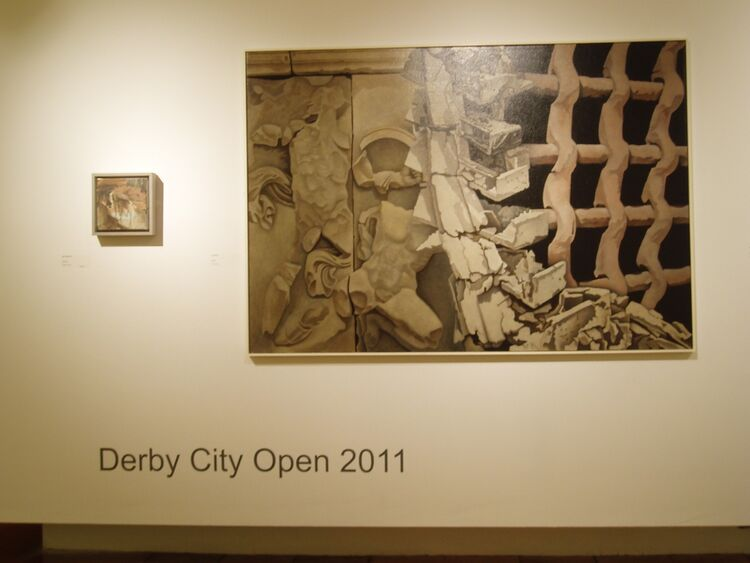 Rubble at Derby Museum and Art Gallery