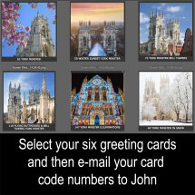 Assorted Six Card Set of Your Choice £10