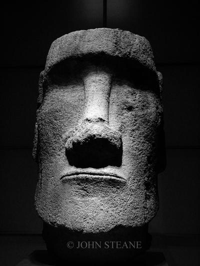 Easter Island Head, The Louvre, Paris