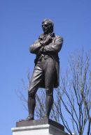 Robert Burns in Burns' Statue Square, Ayr
