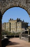 Culzean Castle.. Classic View from the archway