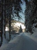 Winter Scene, Kitzbuhl, Austria