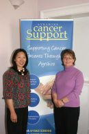 Partnership between New Horizons and Ayrshire Cancer Support