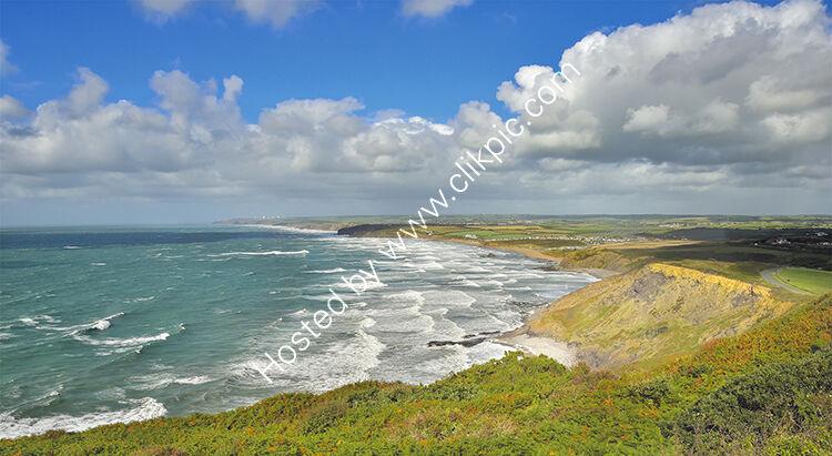 Widemouth Bay.