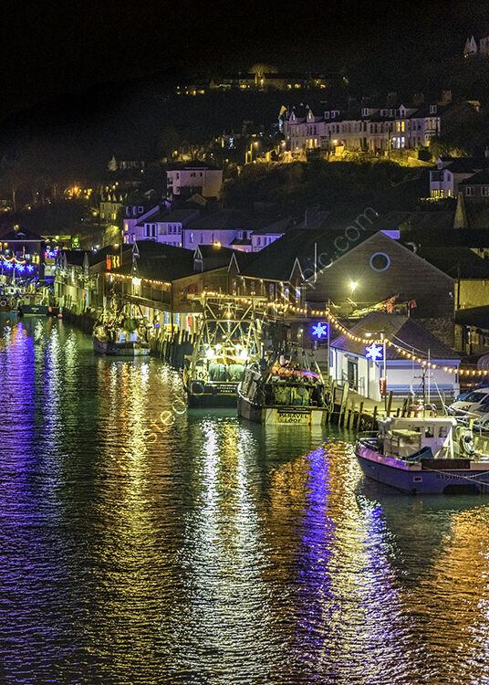 Looe harbour.