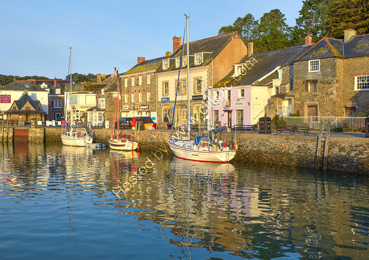 Padstow, on a quiet morning.