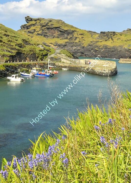 The harbour at Boscastle.