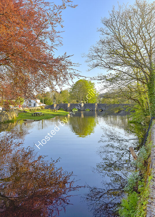 The River Fowey at Lostwithiel.
