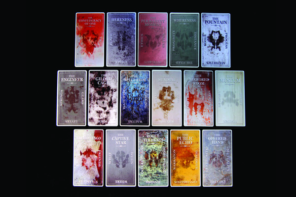 The Presence cards