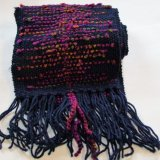 Navy & Purple Scarf