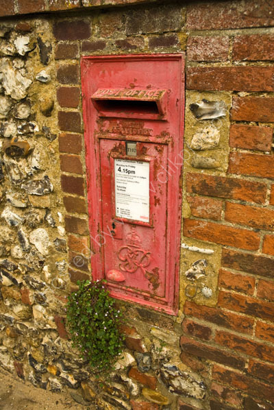 Village postbox Brancaster
