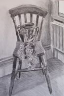 Hyacinth on chair