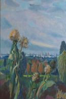 summer cardoons oil on canvas 70x50cm SOLD