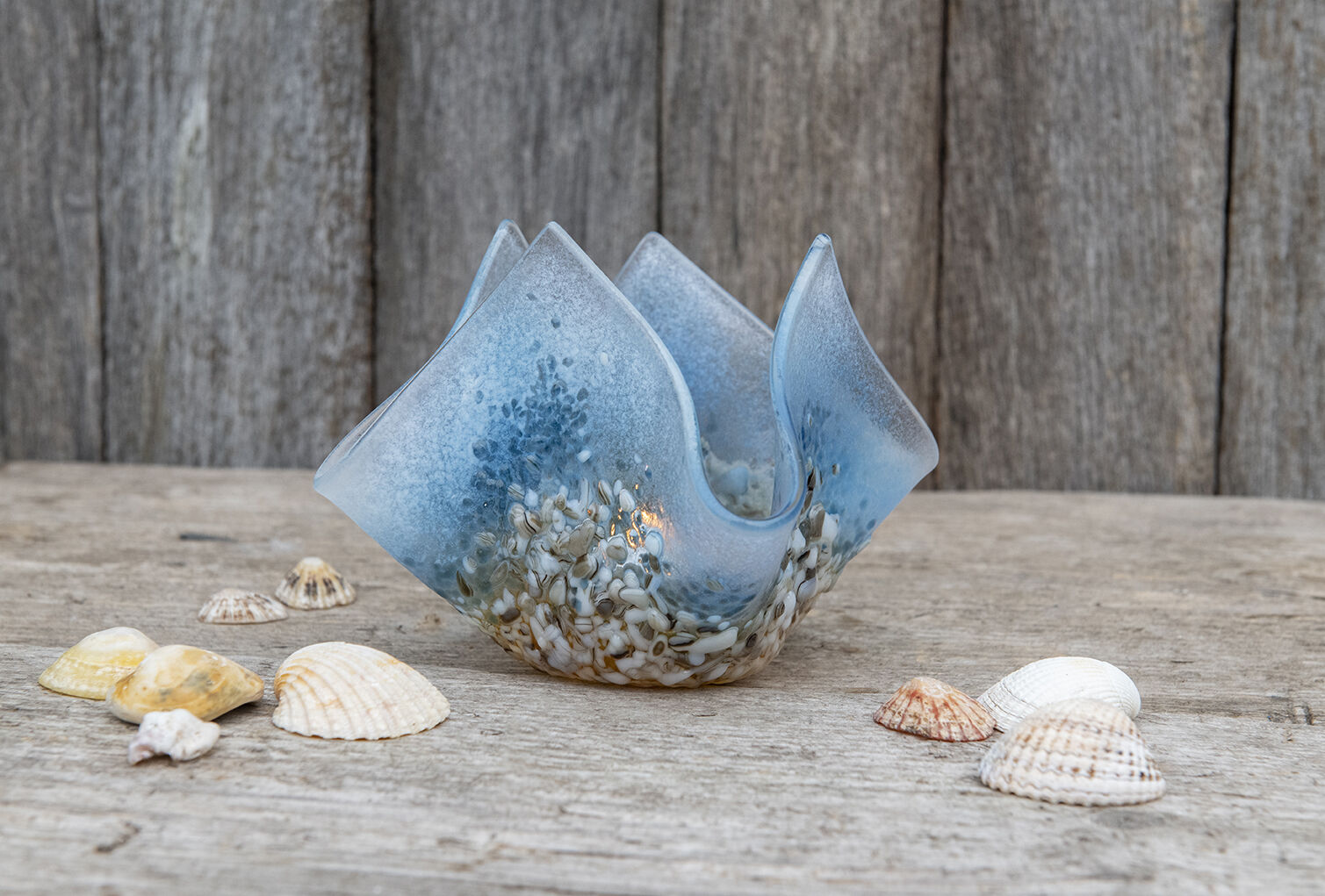 Ocean Tea light vase