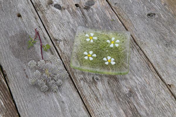 Daisy flower Trinket dish