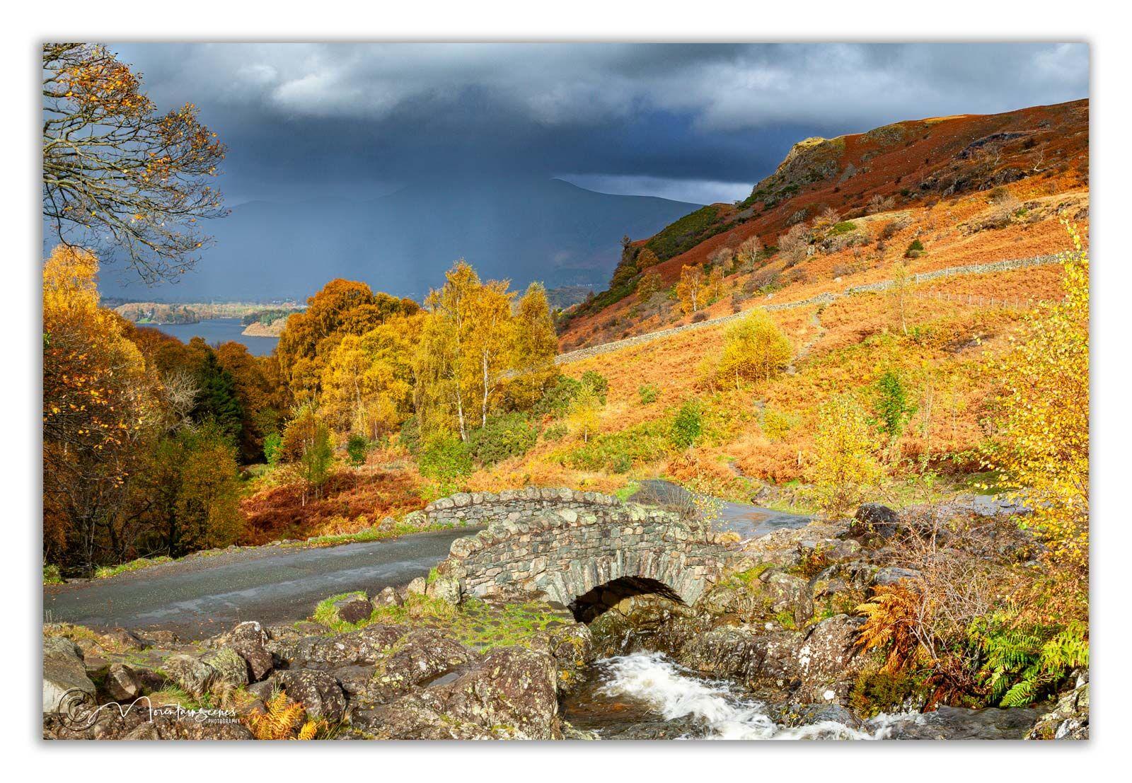 Ashness Bridge in Autumn 1