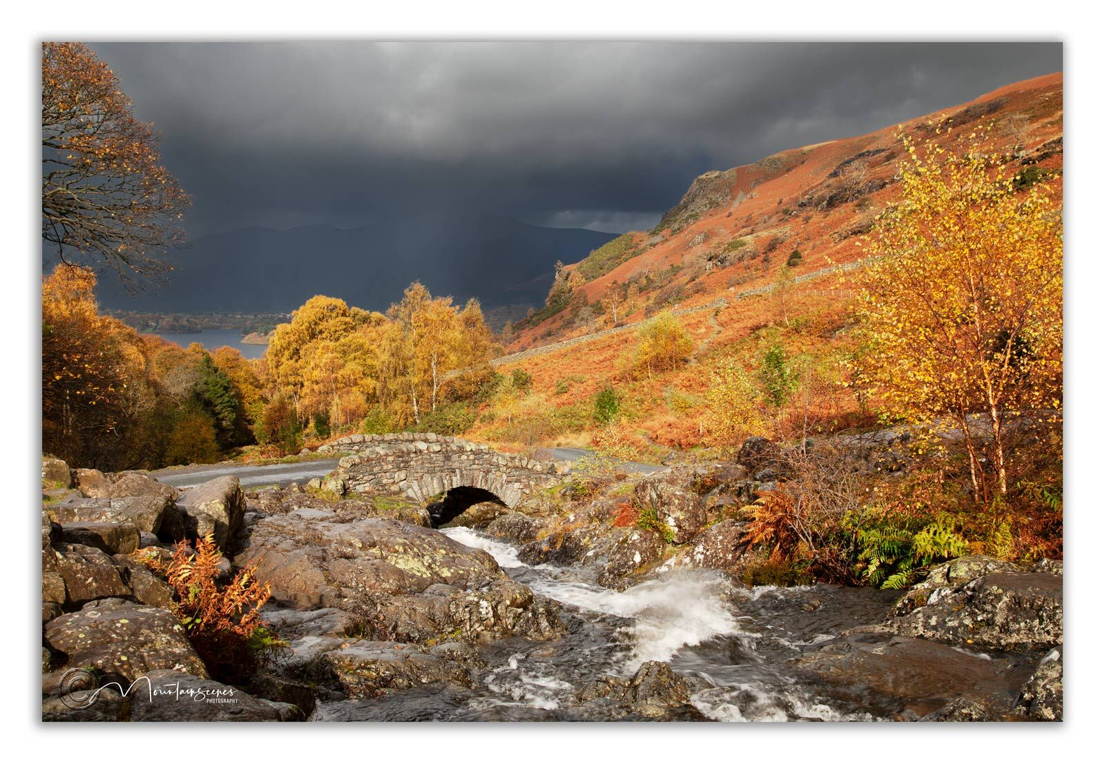 Ashness Bridge in Autumn 2