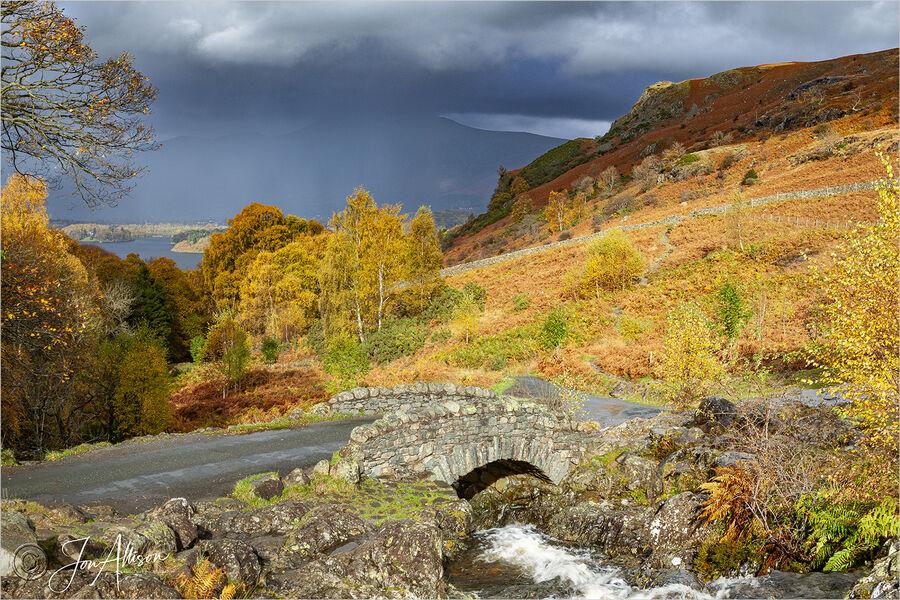 Ashness Bridge in the Autumn