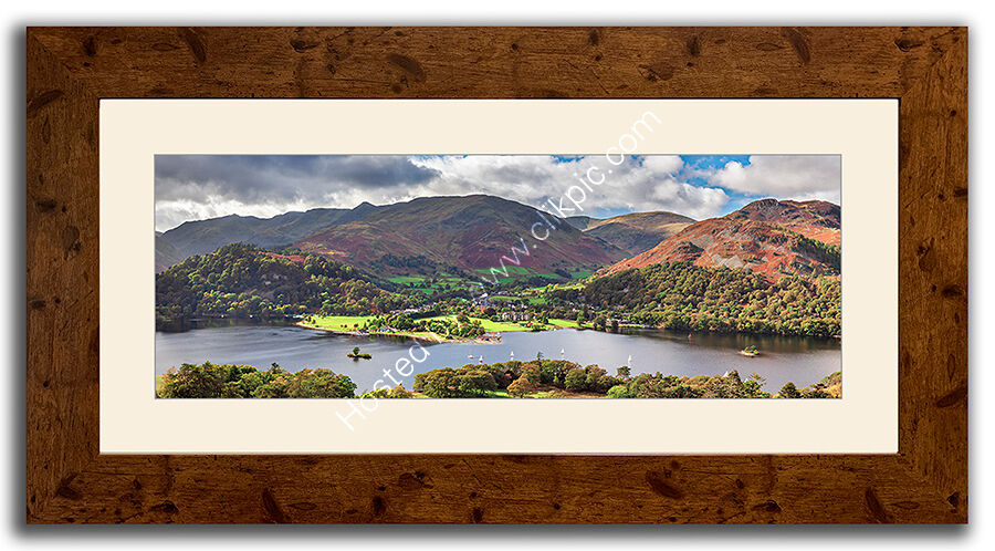 Distressed Oak Laminate Frames, for regular and panoramic prints