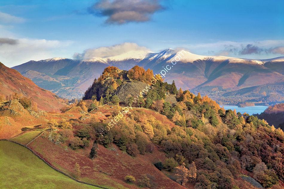 Castle Crag, Borrowdale