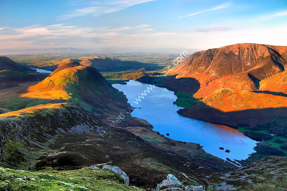 Crummock Water from Red Pike Summit.
