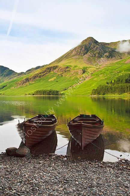 Boats at Buttermere