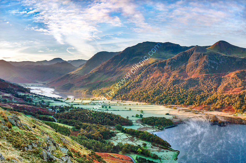The Buttermere Fells at Dawn