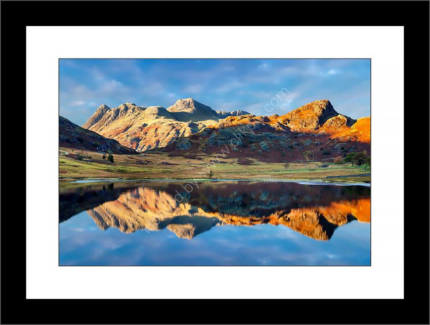 Blea Tarn Reflections 1