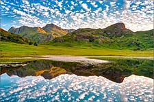 Blea Tarn reflections 2