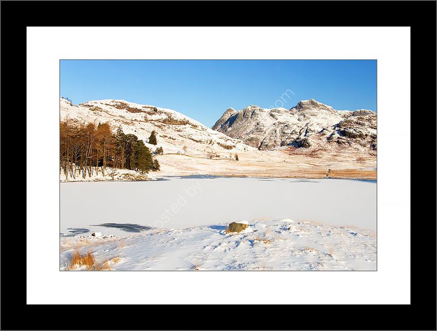 Blea Tarn in Winter 2