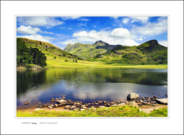 Blea Tarn, Little Langdale, in summer