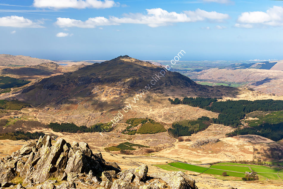 Harter Fell above the Duddon Valley