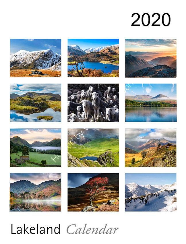 Lake District Calendar 2020