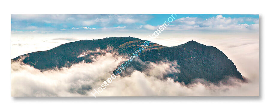 Canvas prints, varnished, wrapped and stretched over wood frame. For regular and panoramic prints