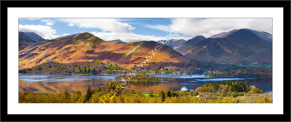 Catbells and the Derwent Fells Framed