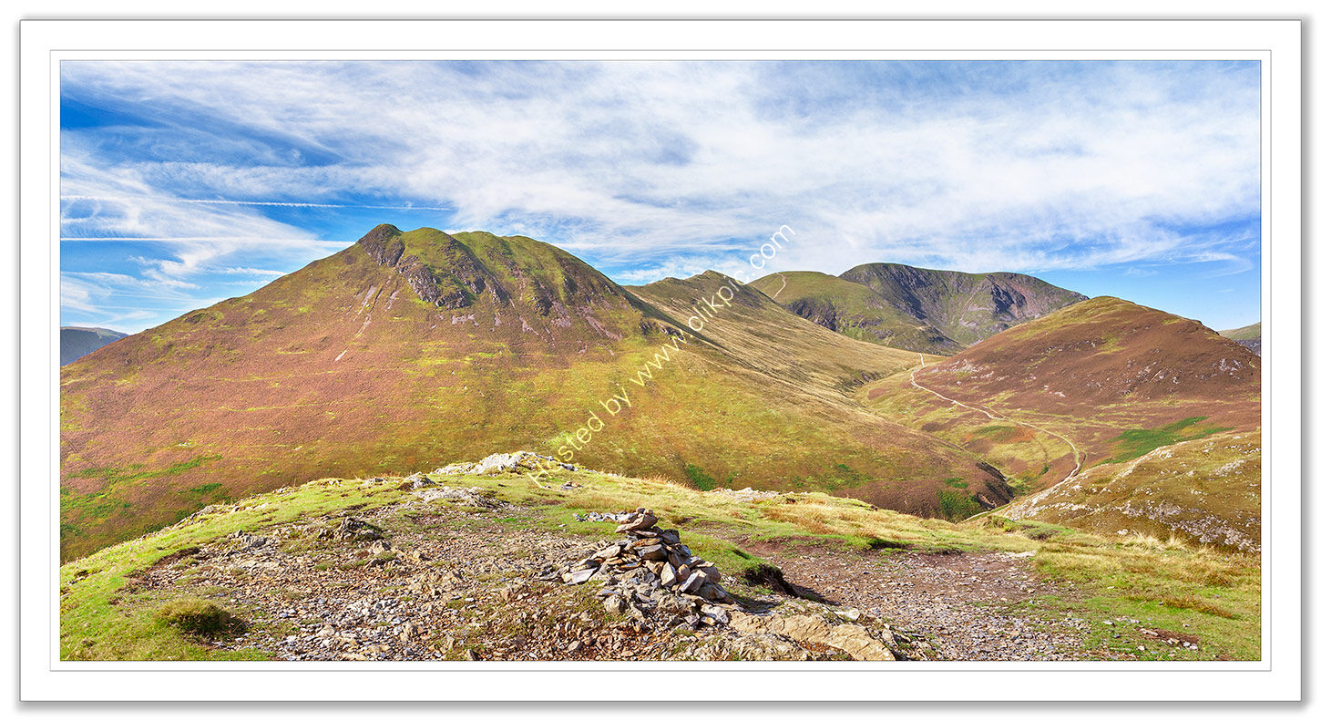 Causey Pike and Grasmoor