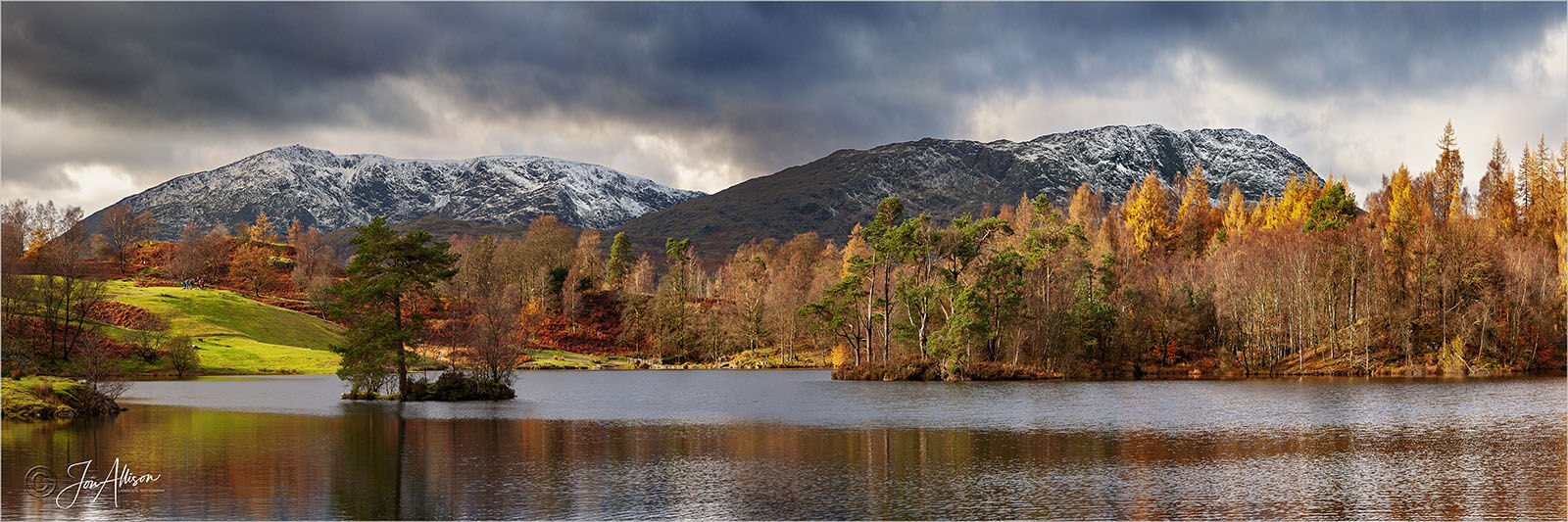 Coniston Fells from Tarn Hows 2