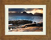 Cuillin 1 Distressed Oak frame