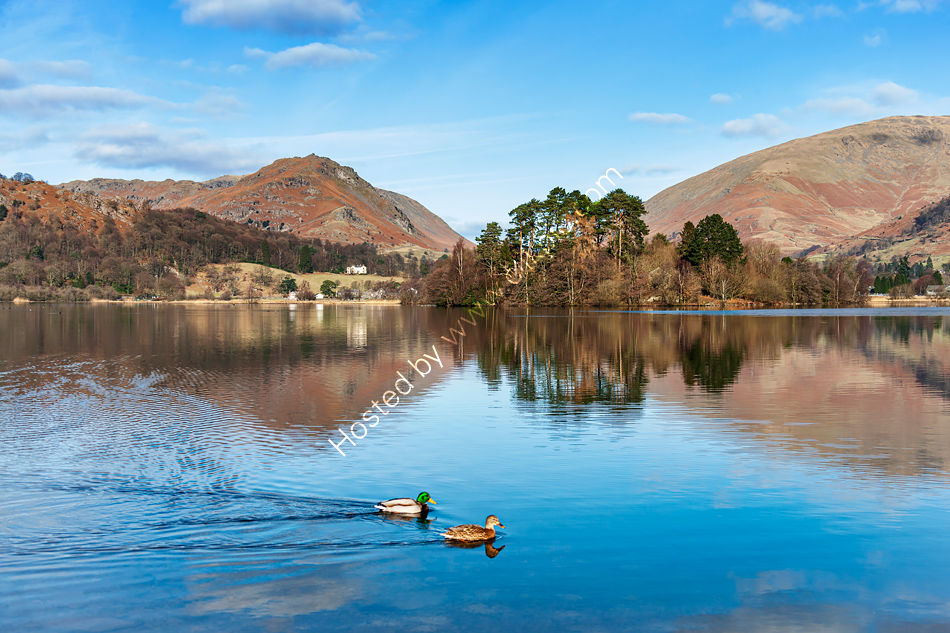 Grasmere on a beautiful autumnal day