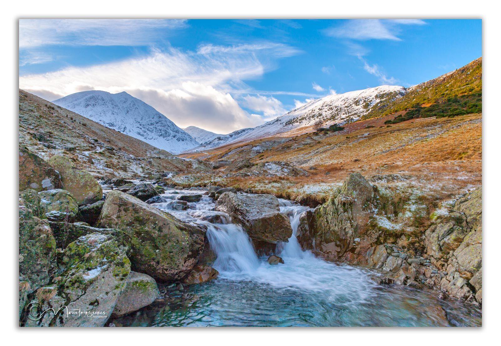 Glenridding Beck in winter