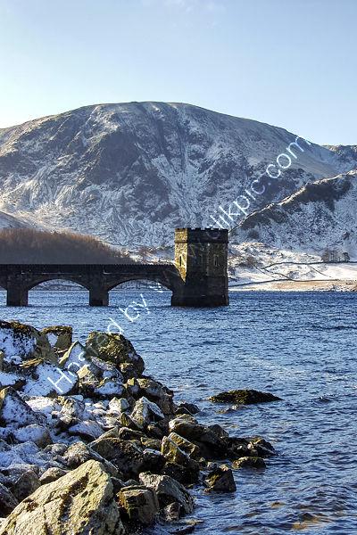 Haweswater Reservoir Tower in Winter