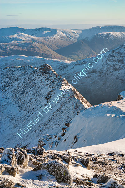 Striding Edge from Helvellyn Summit