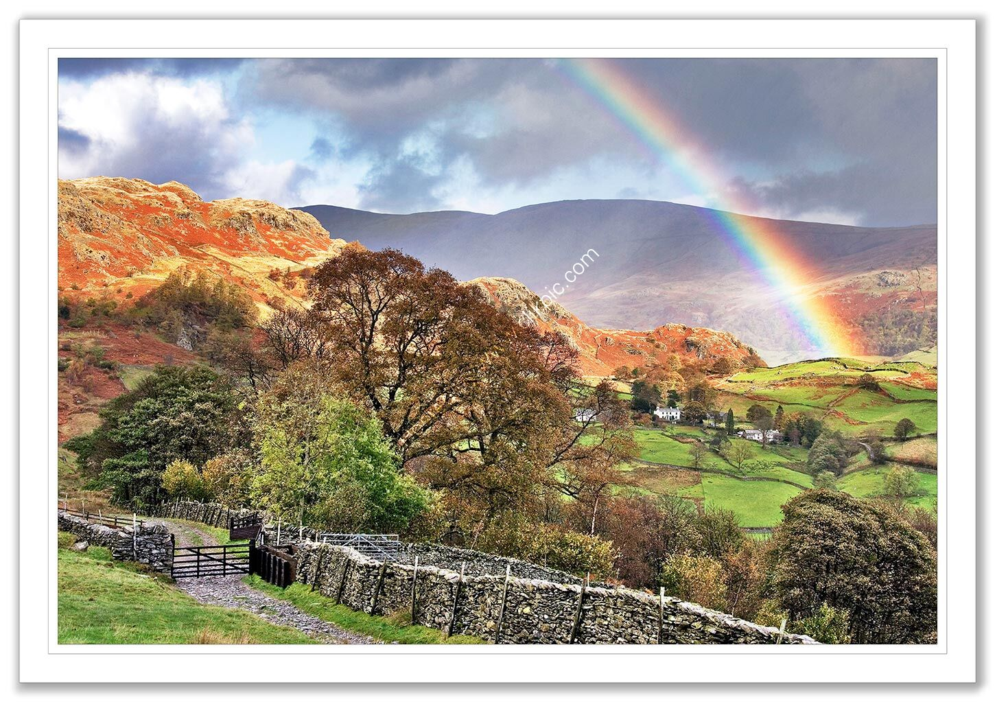 Rainbow over Kentmere