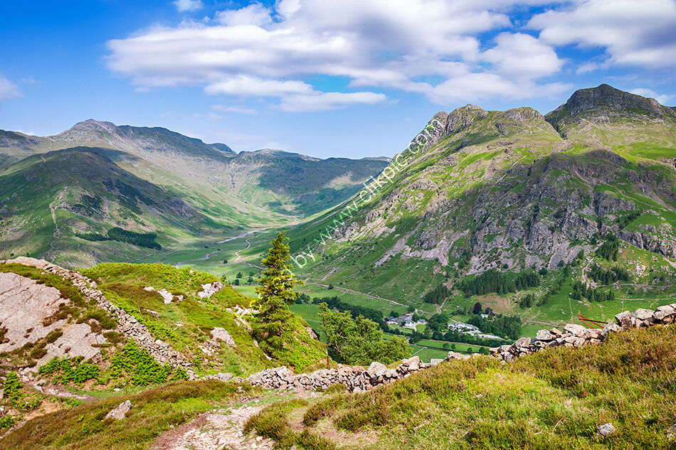 Langdale and Bowfell