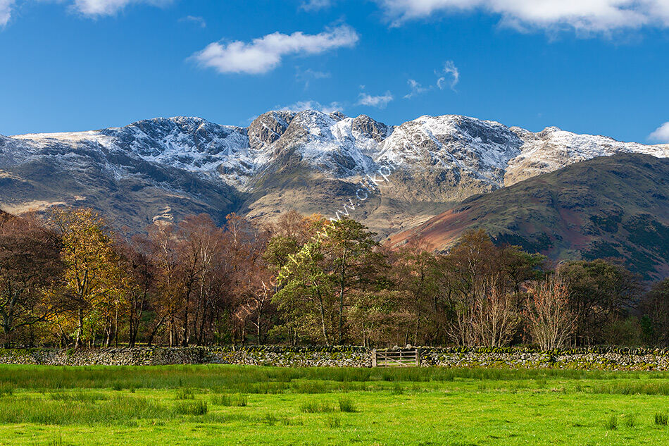 Crinkle Crags from Langdale