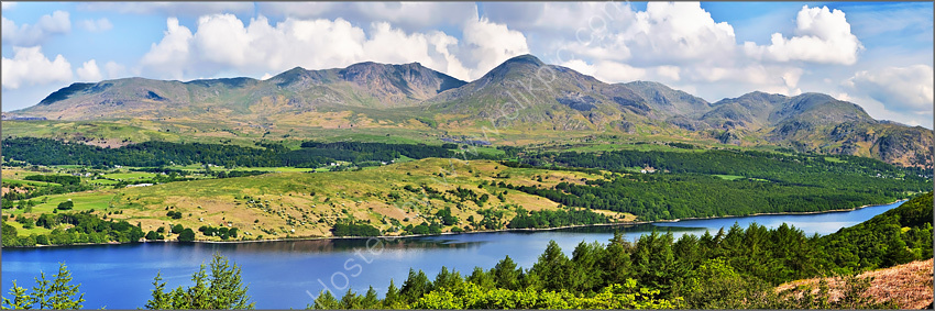 Coniston and the Old Man in summer