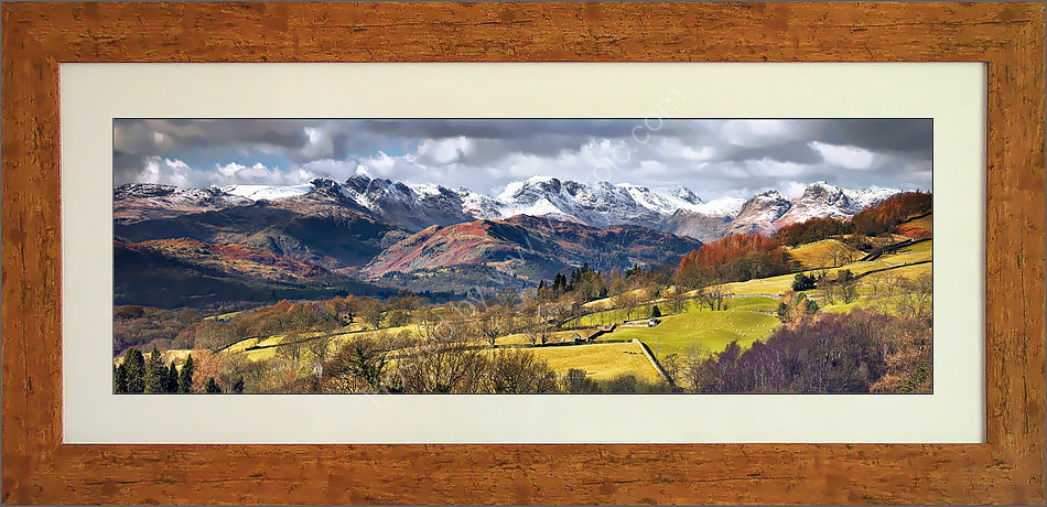 Crinkle Crags from Troutbeck