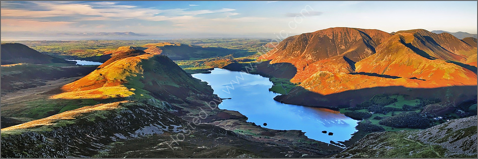 Crummock Water from Red Pike Summit