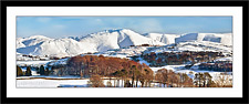 The Howgill Fells in Winter